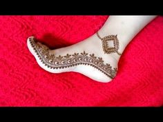 #hennatattookit #hennadesign SIMPLE AND EASY MEHNDI DESIGN FOR LEGS LATEST HENNA PATTERN | SPECIAL EID 2018
