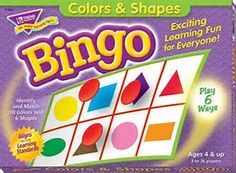 Image result for bingo colors- age range 4 and up