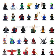 Minifigures For Individually Sale Marvel DC Super Heroes Avengers Batman Building Blocks Sets Model Bricks Toys Legoe Compatible-in Blocks from Toys & Hobbies on Aliexpress.com | Alibaba Group