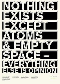 nothing exists