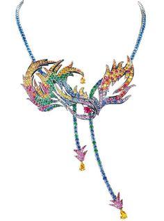 Boucheron Cirque Du Soleil Inspired Mystère Necklace