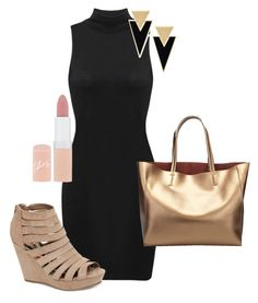 """""""Dinner date!"""" by h3llo6 on Polyvore featuring Madden Girl, Yves Saint Laurent and Rimmel"""