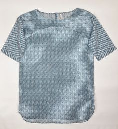 c300b234b0 Seasalt Trewethen Cotton Tunic Long Top Dress in Teal and White Size 12