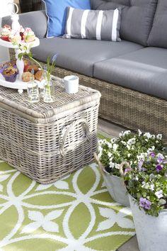 Ga voor een gezellig vloerkleed in je tuin!