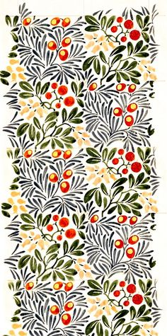 Strawberry Tree, by C.F.A. Voysey. England, 1918