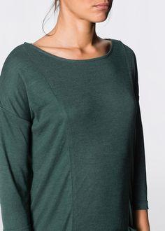 Strickshirt-Kleid russisch grün meliert - RAINBOW jetzt im Shop von bonprix.ch ab CHF 34.95 kaufen. Lässiges Strickshirt-Kleid mit Rundhalsausschnitt, ...