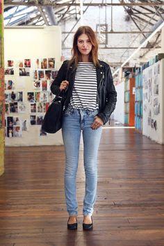 Models off duty: Mila de Wit