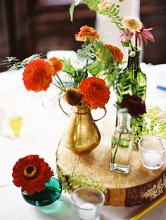 Dahlia wedding flowers   Wedding & Party Ideas   100 Layer Cake