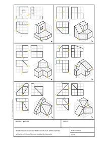 Creative Draw A Monster Ideas. Exacting Draw A Monster Ideas. Isometric Drawing Exercises, Isometric Art, Isometric Design, Interesting Drawings, Easy Drawings, Movement Architecture, Orthographic Drawing, Youtube Drawing, Geometric Construction
