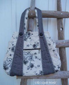 Ulla's Quilt World: Rose bags quilt, PATTERN+TUTORIAL | artes decorativas | Scoop.it
