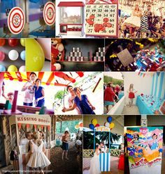wedding theme - fun fair - games (visit my blog to view more)