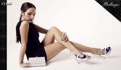 Zapatos MarF: MODELO BELLAGIO  oro y fucsia o plata y azul