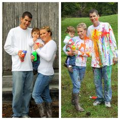 Splatter Paint Photoshoot - SMH Photography (TN)