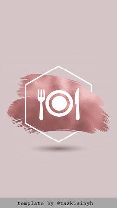 FOOD Instagram Frame, Instagram Logo, Instagram Feed, Instagram Story, Pastel Highlights, Airplane Icon, Blog Website Design, Snapchat Icon, Insta Icon