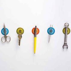 These magnetic stickers to keep your important tools handy ($14.99).