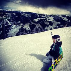 Good I for a snowboarding picture