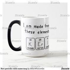 Drew periodic table name mug periodic table keri periodic table name mug urtaz Choice Image