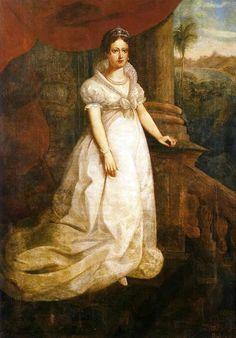 S.A. Leopoldina de Habsburgo-Lorena, Imperatriz do Brasil, 1821 - HIM Empress Leopoldina of Brazil, 1821