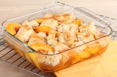 #Honey Sweetened Summer Peach Cobbler {Recipe}