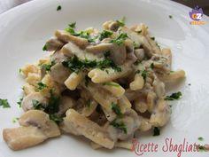 Funghi e tartufo con una speciale pasta alle nocciole dal Pastificio Fanelli
