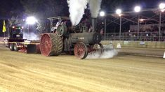 Ultimate Torque Machine 110HP Case Steam Tractor Makes it Rain FIRE Sure, this tractor might not make the most horsepower in the world, but we would imagine that its ability to chug along in this tractor pull means it makes some serious torque. The machine might boast some impressive pulling power, but that isn't...