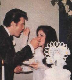 Wedding Cake for second wedding held at Graceland