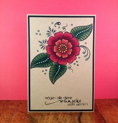 card made by stef using Altenew Stamps