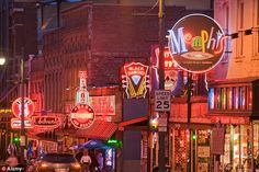 Beale Street-Memphis,Tennessee