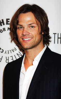 that smile is contagious <3 Misha, Jensen, and Jared all have such beautiful smiles :)