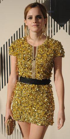 Emma Watson Burberry Prorsum fashion show '10 (Burberry Prorsum)