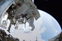 """Look down."" Ron Garan - Expedition 28"