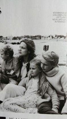 Natalia with her children