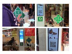 Nominiertes interaktives Pilotprojekt bei Deichmann in Essen (Fotos: LEAD concepts; Montage: invidis.de)