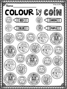 Australian money worksheets math games and coin activities that are a lot of fun to practice Australian coins