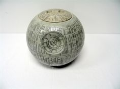 Death Star Cookie Jar for the Ultimate Star Wars Fan. By Cozy contributor SecondSally. http://www.squidoo.com/death-star-cookie-jar