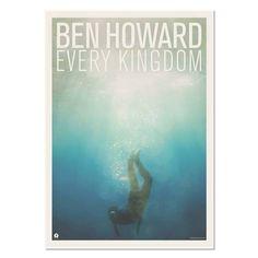 Ben Howard - EVERY KINGDOM ALBUM POSTER