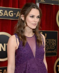 Keira Knightly - Best Hairstyles of the 2015 Screen Actors Guild Awards