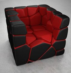 Funky Furniture- this would be so awesome in my future