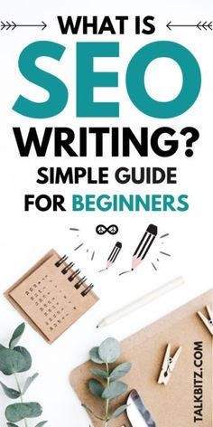 What is SEO writing? SEO is Search Engine Optimization. SEO writing (or writing for SEO) is a specific way of writing to get attention from search engines using a particular word or phrase… Affiliate Marketing, E-mail Marketing, Digital Marketing Strategy, Content Marketing, Online Marketing, Business Marketing, Mobile Marketing, Marketing Strategies, Online Business