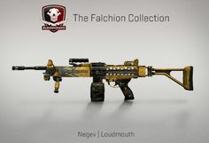 Counter-Strike Global Offensive: The Falchion Collection: Negev Loudmouth
