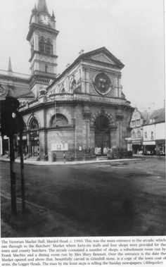 The old Market Hall Shrewsbury