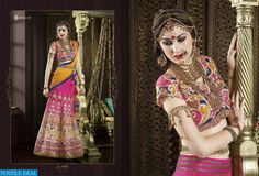 #NavratriSpecial Offer on Swagat Navratri Special #Lehengas Catalogs. Shop here: https://goo.gl/djBTuJ these gorgeous Navratri Special Lehengas Collection online at #TextileDeal Availability: Available Catalog pieces: 18 Full Catalog Price: 41400 Price Per piece: 2300 MOQ: Full catalog Shipping Time: 4-5 days Sizes: With Blouse #NavratriLehengas #LehengasCollection #WomensFashion #Lehenga #LehengaCholi
