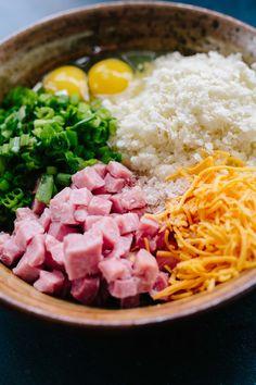 Waffle Iron Cauliflower Hash Browns — Brooke Lark