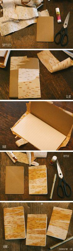 Leuk idee: Kaften met schors | Vitaya