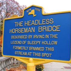 The Headless Horseman Bridge, Sleepy Hollow, NY