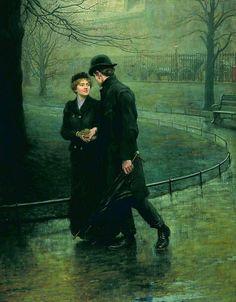 Hugh Goldwin Riviere - The Garden of Eden (1901)