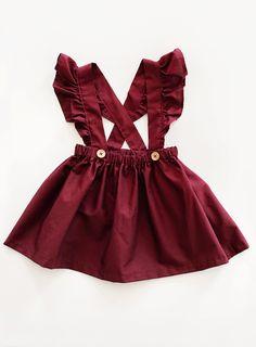 Beautiful Handmade Cotton Pinafore Dress | Gypsyandfree on Etsy