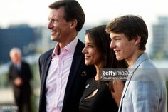Crown Prince Frederik of Denmark Birthday TV Show on May 2018 ~ Prince Joachim, Princess Marie and his son Felix Prince Felix Of Denmark, Prince Frederik Of Denmark, Danish Royal Family, Danish Royals, Crown Princess Mary, Royal Palace, Royal Families, 50th Birthday, My Man