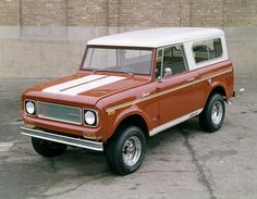 1968 International Scout SR-2 Truck by Wisconsin Historical Images, via Flickr