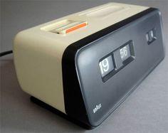 Phase 1 alarm clock, Dieter Rams & Dietrich Lubs, for Braun, 1971